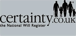Certainty will logo